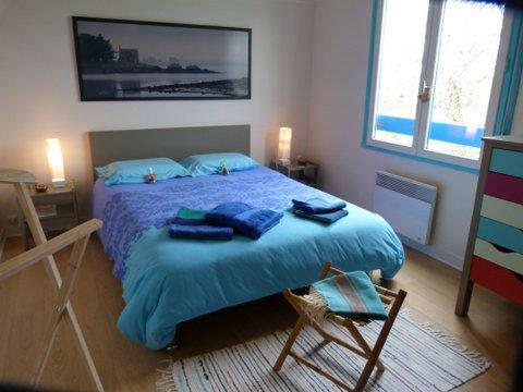 Une chambre d 39 h tes bleue oc ane aux couleurs du morbihan - Chambre d hotes morbihan ...