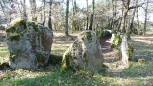 """Le """"dolmen  de """"Roch-Enzel"""" au Luffang à CRAC'H"""