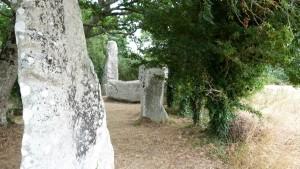 The standing stones at Erdeven