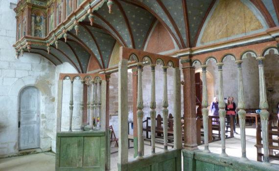 Le Jubé : chapelle st Avoye (1554-1557)